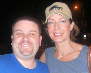 Ryan with Allison Janney - September 18, 2008