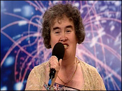 Susan Boyle Proves Britain's Got Talent