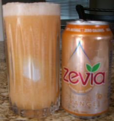 Orange Zevia Float
