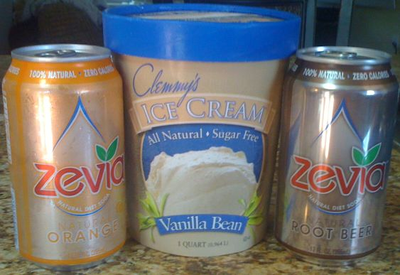 Zevia & Clemmy's Ice Cream