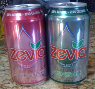 Zevia Black Cherry & Ginger Ale