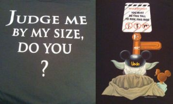 Judge Me T-Shirt Front And Back