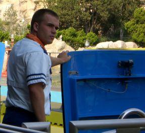 Finding Nemo Ride Operator