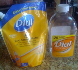 Dial Soap Refills New and Old Packaging