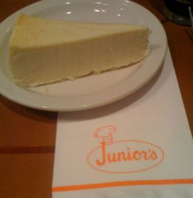 Junior's Sugar Free Cheesecake