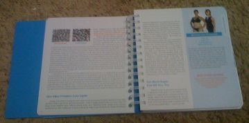 Page 14 of the Belly Fat Cure book features two photos of my blood in the upper left hand corner.