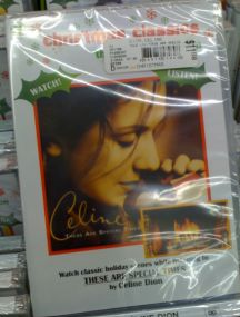 Celine Dion Fireplace DVD