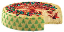 Juniors Christmas Cheesecake